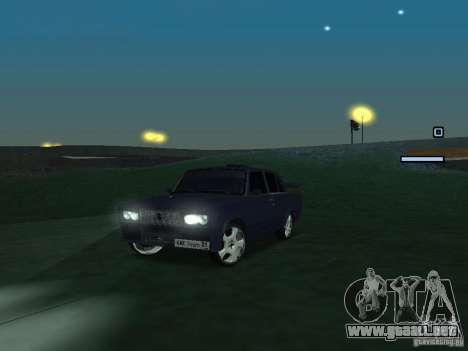 VAZ 2105 Drift King para GTA San Andreas left