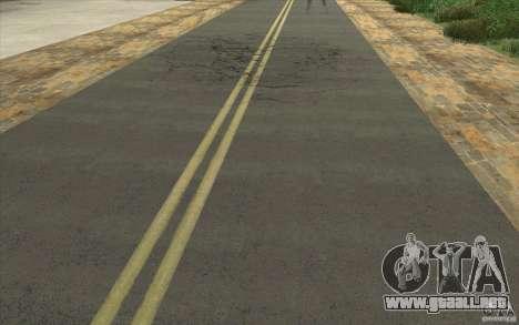 Una aldea nueva Dillimur para GTA San Andreas segunda pantalla