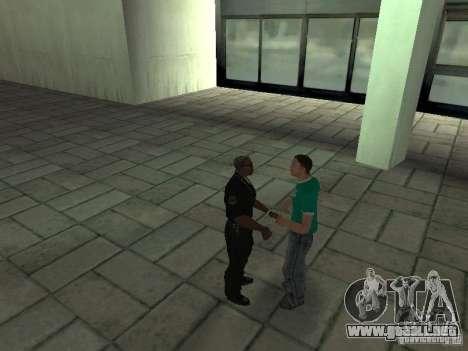 SFnews o la oportunidad de dar una entrevista para GTA San Andreas sucesivamente de pantalla
