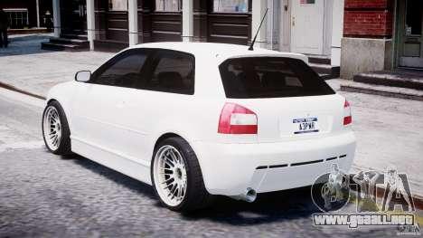 Audi A3 Tuning para GTA 4 visión correcta