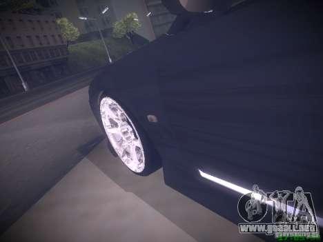 Nissan Silvia S15 para vista inferior GTA San Andreas