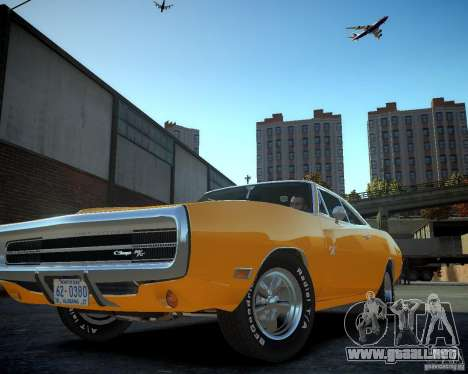 Dodge Charger Magnum 1970 para GTA 4 vista interior