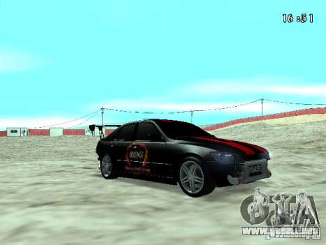 Toyota Altezza NKS Drift para la visión correcta GTA San Andreas