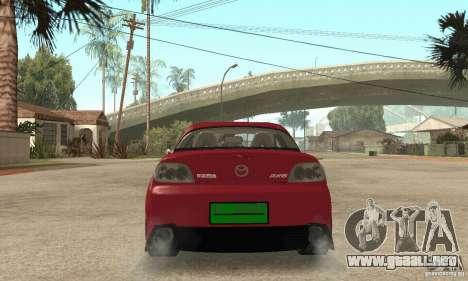 Encendido y apagado del motor y los faros para GTA San Andreas tercera pantalla