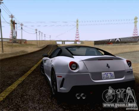 Ferrari 599 GTO 2011 v2.0 para GTA San Andreas left