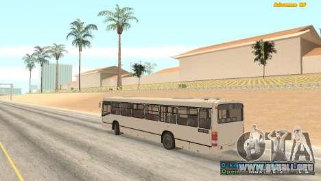 Mercedes-Benz Turk O345 para GTA San Andreas left