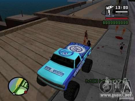Un monstruo en el estilo del FC ZENIT para GTA San Andreas