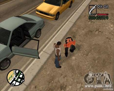Endorphin Mod v.3 para GTA San Andreas sexta pantalla