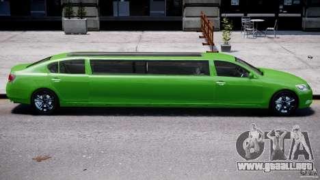 Lexus GS450 2006 Limousine para GTA motor 4