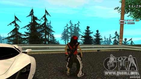 Chicano Chick Skin para GTA San Andreas tercera pantalla