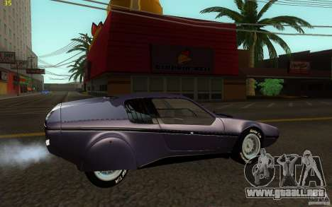 BMW Turbo 1972 para GTA San Andreas left