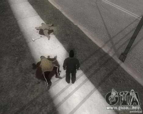 GTA SA - Black and White para GTA San Andreas segunda pantalla