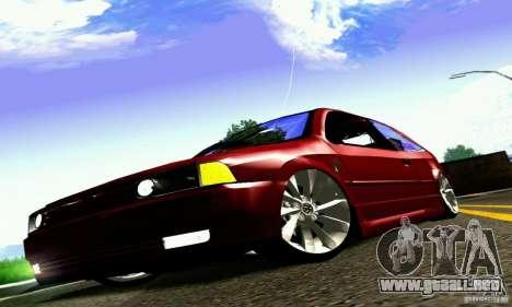 Volkswagen GOL G2 Tuning para la visión correcta GTA San Andreas