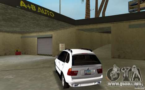 BMW X5 para GTA Vice City vista lateral izquierdo