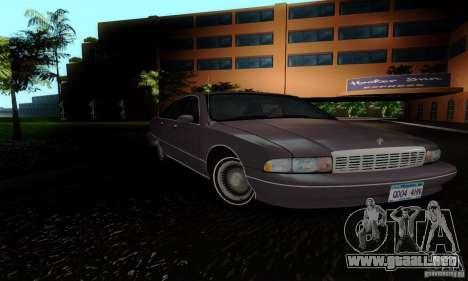 Chevrolet Caprice 1991 para la visión correcta GTA San Andreas