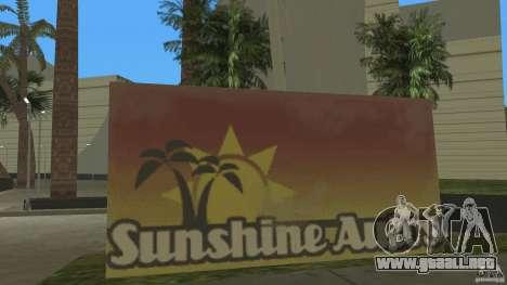 Sunshine Stunt Set para GTA Vice City segunda pantalla