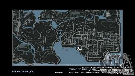 HUD by Neo40131 para GTA San Andreas sucesivamente de pantalla