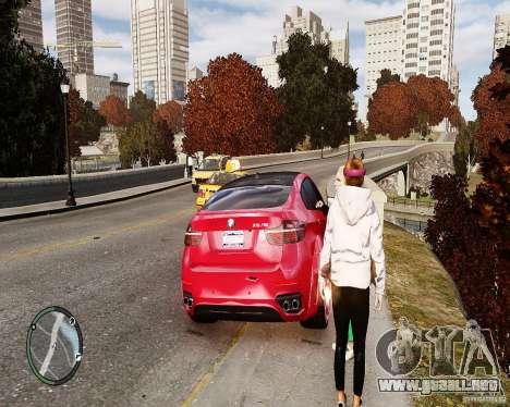 BMW X6M Lumma para GTA 4 vista interior