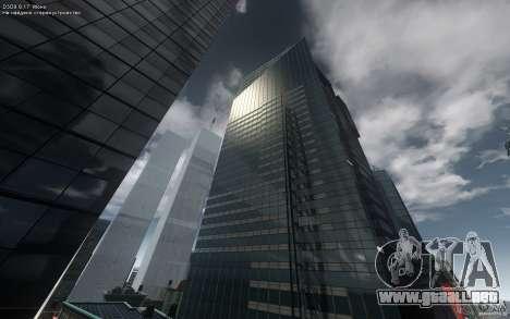 Pantallas de menú y arranque de Liberty City en  para GTA San Andreas tercera pantalla
