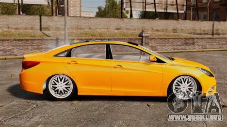 Hyundai Sonata 2011 v2.0 para GTA 4 left