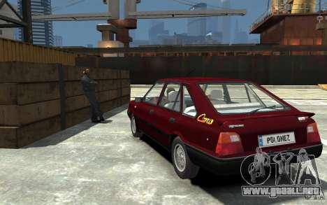 FSO Polonez Caro 1.4 16V para GTA 4 Vista posterior izquierda