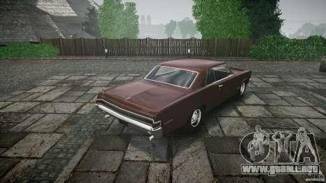 Pontiac GTO 1965 para GTA motor 4