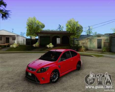 Ford Focus RS para GTA San Andreas
