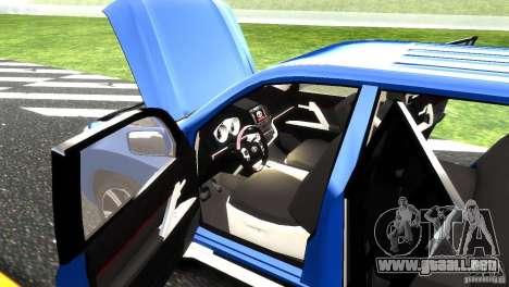 Toyota Land Cruiser 200 RESTALE para GTA 4 vista desde abajo
