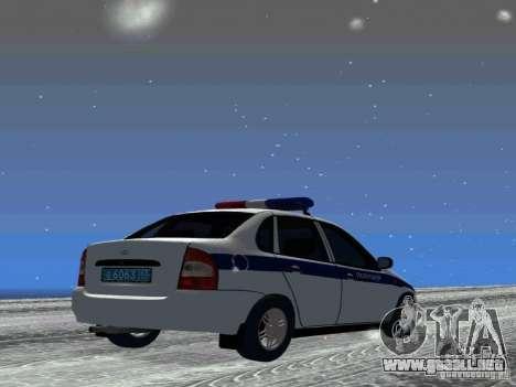 VAZ 1118 DPS para la visión correcta GTA San Andreas