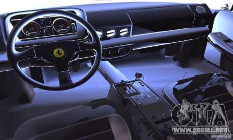 Ferrari 512 TR para vista lateral GTA San Andreas