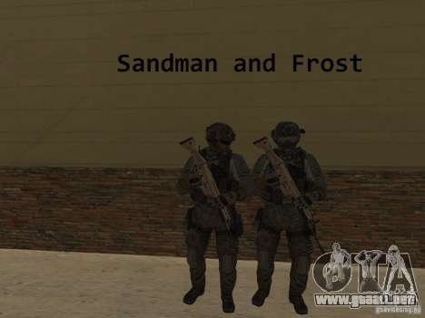 Frost and Sandman para GTA San Andreas