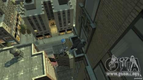 Zombie Bike Paintjob para GTA 4 vista hacia atrás