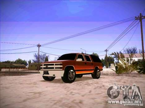 Chevrolet Suburban 1998 para GTA San Andreas
