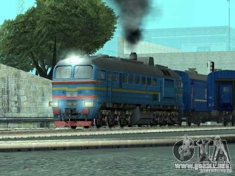 DM62 1804 para GTA San Andreas vista posterior izquierda