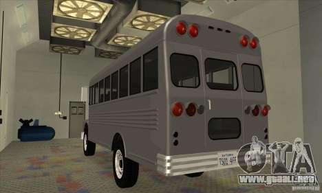 Civil Bus para la visión correcta GTA San Andreas