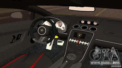 Lamborghini Gallardo LP570-4 Superleggera para la visión correcta GTA San Andreas