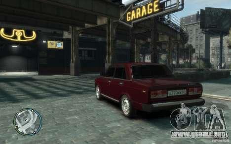 VAZ 2107 para GTA 4 left