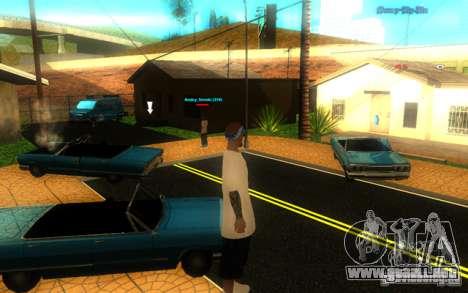 Nuevas texturas de El Corona para GTA San Andreas sucesivamente de pantalla