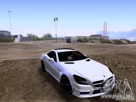 Mercedes-Benz SLK55 AMG 2012 para GTA San Andreas left