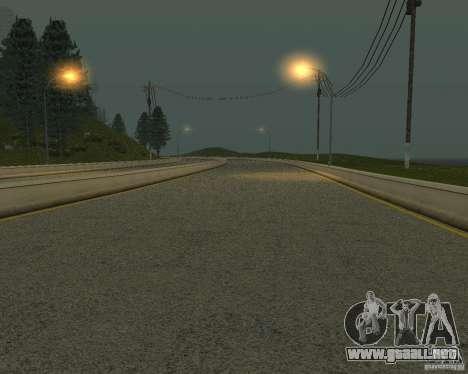 Nuevos caminos en San Fierro para GTA San Andreas novena de pantalla