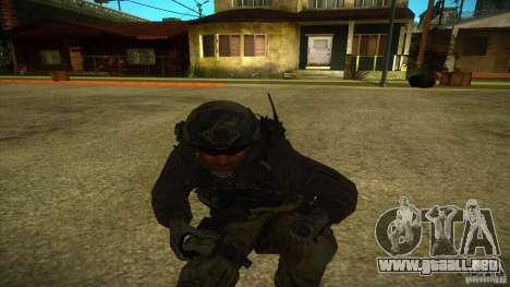 Sandman para GTA San Andreas quinta pantalla