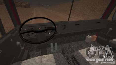KAMAZ 5410 para GTA 4 Vista posterior izquierda