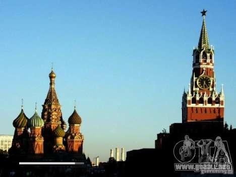 Pantalla de arranque de Moscú para GTA San Andreas tercera pantalla