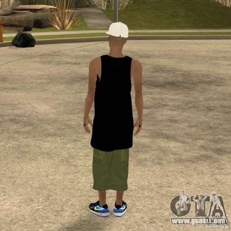 Cone Crew Skin para GTA San Andreas sucesivamente de pantalla