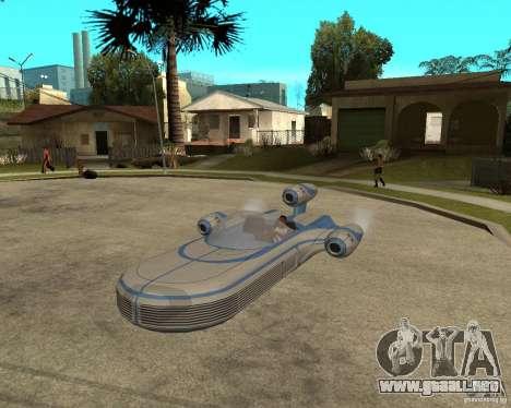 X34 Landspeeder para GTA San Andreas