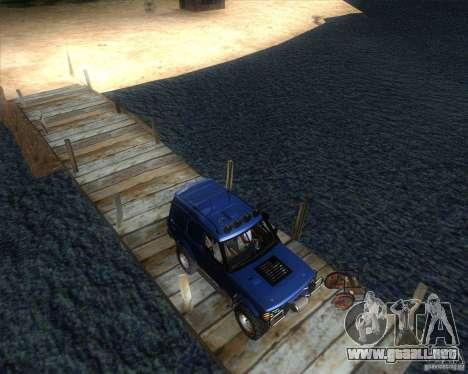 Landrover Discovery 2 Rally Raid para GTA San Andreas