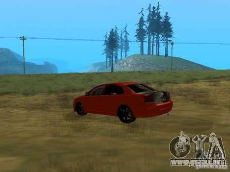 Toyota Avensis TRD Tuning para GTA San Andreas left