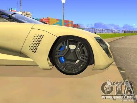 Bertone Mantide para visión interna GTA San Andreas