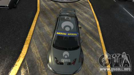 Mitsubishi Lancer Evolution para GTA 4 left