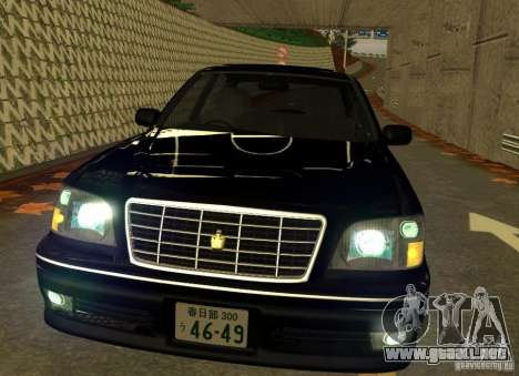 Toyota Crown Majesta S170 para GTA San Andreas left